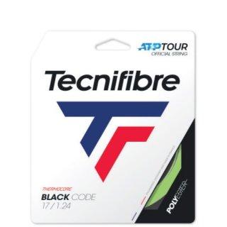 Tecnifibre Black Code Lime Tennissaite | 12M Set | Limette | 128