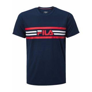 FILA Niclas T-Shirt | Herren | peacoat blue |