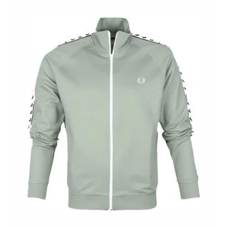 Fred Perry Taped Track Jacket   Herren   Seagrass  