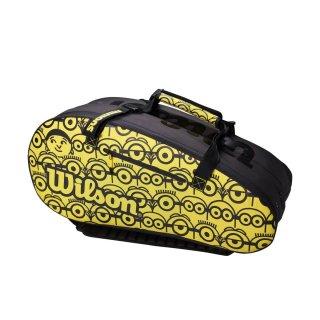 WILSON MINIONS TOUR 12PK  Tennistasche  | Black / Yellow |