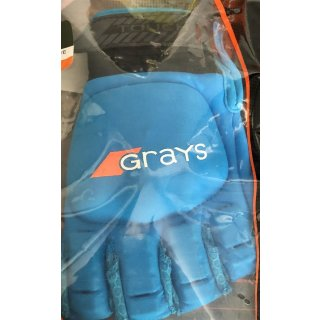 Grays Glove Touch Hockeyhandschuh |  Feld |  linke Hand | schwarz/blau |