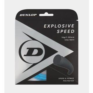 Dunlop ST EXPLOSIVE SPEED 17G  Tennissaite | 12M SET | blue-125