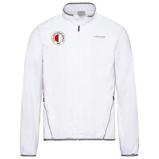 Head Trainingsjacke mit LTTC Rot Weiss Logodruck   Kind   weiss  