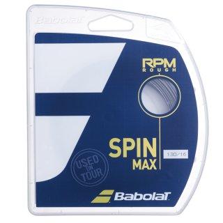 Babolat RPM Rough Tennissaite   12M Set   Schwarz   125