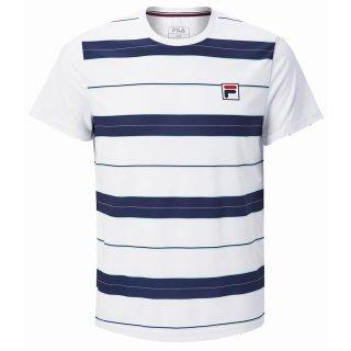 Fila Julian T-Shirt | Herren | White/Blue |