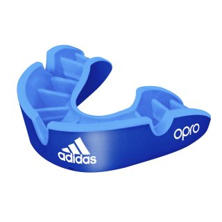 ADIDAS OPRO Self-Fit Gen4 Silver Senior | blue