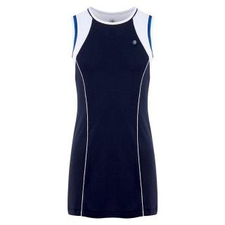 Poivre Blanc S20-4831 DRESS   Kinder   oxford blue/ white  