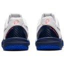 Asics GEL-RESOLUTION 8 CLAY GS Tennisschuhe   Kinder   Outdoor   WHITE/LAPIS LAZULI BLUE  