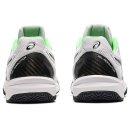 asics GEL-RESOLUTION 8 CLAY GS Tennisschuhe   Kinder   Outdoor   WHITE/GREEN GECKO  