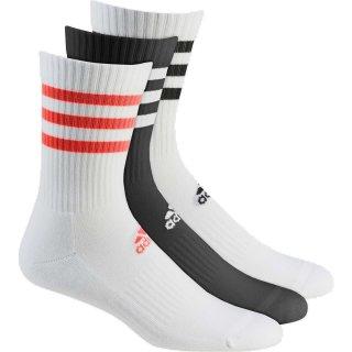 adidas 3S CSH CRW3P Socken | 2PxWHITE; 1PxBLACK |