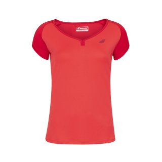 Babolat Play Cap Sleeve Top    Mädchen   tomato red  