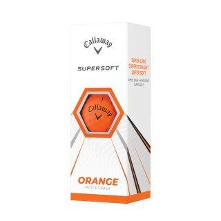 Callaway Supersoft Golf Balls 3er Pack | orange |