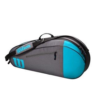 WILSON TEAM 3PK Tennistasche | blue grey |