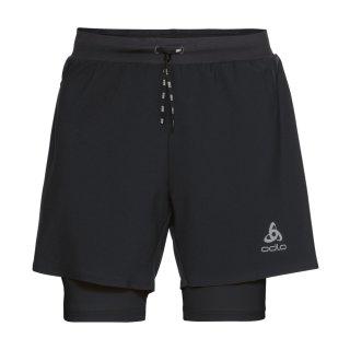 odlo 2-In-1 Shorts Axalp Trail 6 Inch | Herren | black |