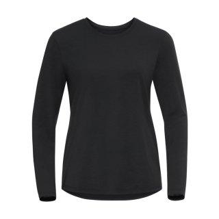 odlo T-Shirt L/S Crew Neck Halden | Damen | black |