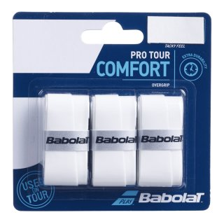 Babolat Pro Tour | Overgrip | Weiss | 3x