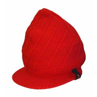 Lasse Kjus Schirmmütze   rot