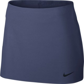 Nike Womens Court Power Spin Tennis Skirt Tennisrock für Damen (BLUE RECALL/BLACK) bei Hajo Plötz