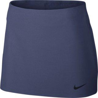 Nike Womens Court Power Spin Tennis Skirt Tennisrock | Damen | blue recall/black |