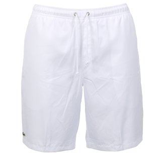 Lacoste Quartier Short Blanc Tennisshorts   Herren   weiss  