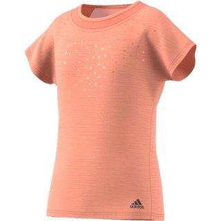 Adidas Dotty Tee | Mädchen | orange |