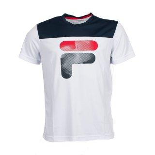 FILA T-Shirt Tim | Herren | weiss |