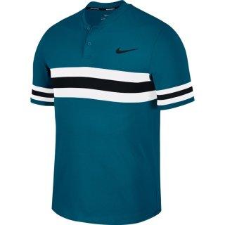 Nike Court Dry Advantage Tennis Polo   Herren   green/white/black  