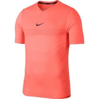 Nike Court AeroReact Rafa Tennisshirt   Herren   hyper crimson/bright mango/gridiron  