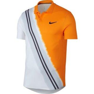 Nike Court Dry Advantage Polo   Herren   orange/weiss/schwarz  