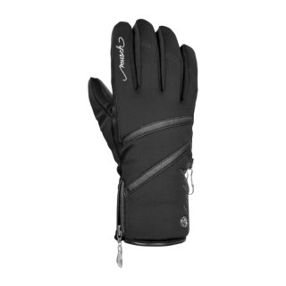 Reusch Lore Stormbloxx Handschuhe l Damen l schwarz/silber l