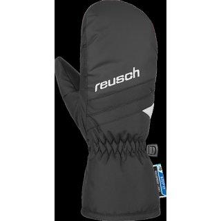 Reusch Bennet R-Tex XT Mitten Junior Handschuhe l Kinder l schwarz/weiss l