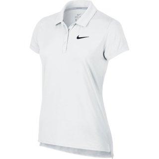 Nike Court Pure Tennis Polo | Damen | weiss |