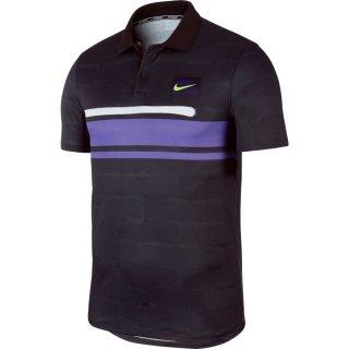 Nike Court Advantage Polo l Herren l schwarz l