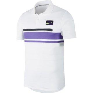 Nike Court Advantage Polo l Herren l weiss l