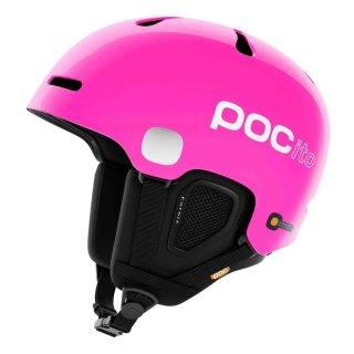 POC Pocito Fornix Skihelm l Kinder l fluorescent pink l