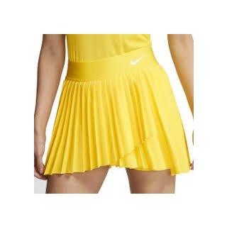 Nike Tennisrock | Damen | gelb |