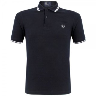 Fred Perry Twin Tipped Fred Perry Shirt   Herren   Navy/White  
