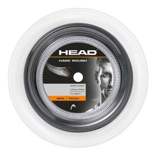 Head Hawk Rough Tennissaite | 200m Rolle | Anthrazit |