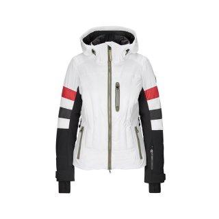 Bogner Malou-T Skijacke | Damen | weiß/schwarz/rot |