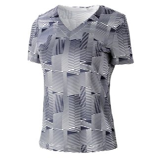 Limited Shirt Geometric | white/blue |