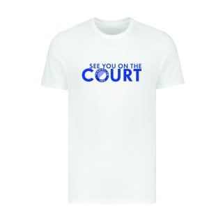 1899 TC BW T-Shirt See you on the Court   Herren   weiß  