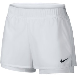 Nike Tennisshort | Damen | weiss |