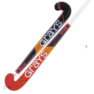 Grays STK 100i IND UB MC Hockeyschläger | Halle | BLK/RD |