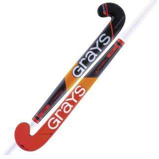 Grays STK 100i IND UB MC BLU/COR Hockeyschläger | Halle | schwarz/rot |