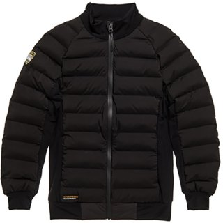 Superdry Motion Hybrid Mid Layer Winterjacke   Damen   black  