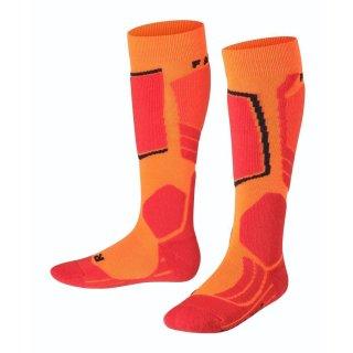Falke Skisocken | Kinder | orange/red |