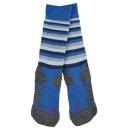 Falke Skisocken   Kinder   blue/black/grey  