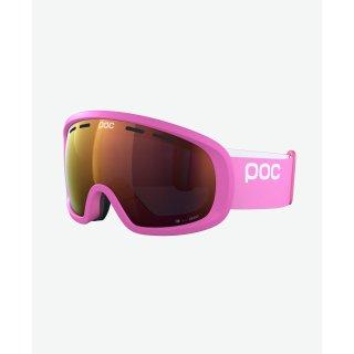 POC Fovea Mid Clarity Skibrille | actinium pink l clarity / spektris orange |