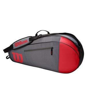 WILSON TEAM 3 PK Red/Gray Tennistasche  