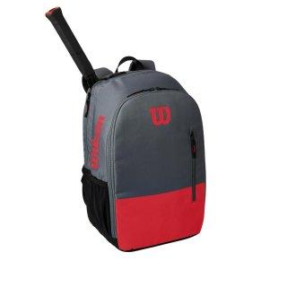 WILSON Team Backpack   Tennisrucksack   red grey